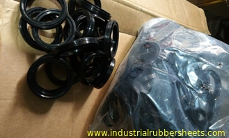 Black NBR O Ring , 8-12Mpa Silicone Rubber Washers for Industrial Seal